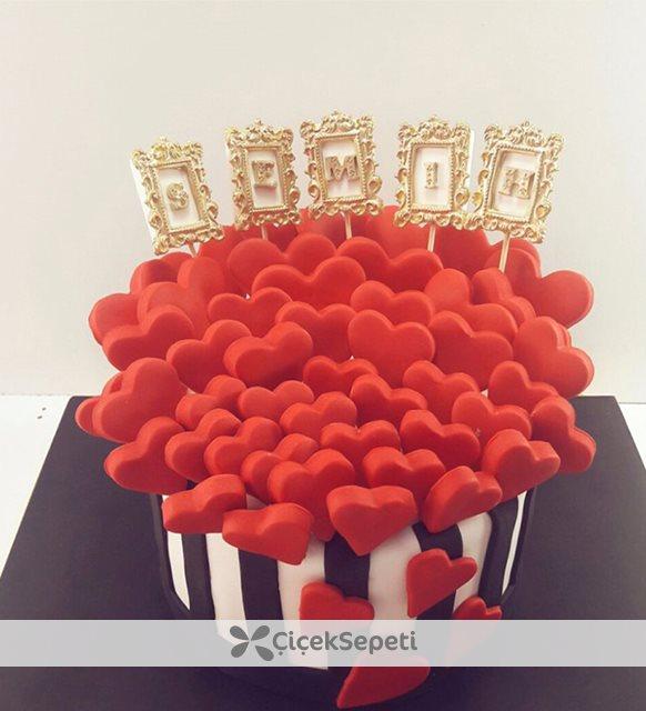 kişiye özel pasta