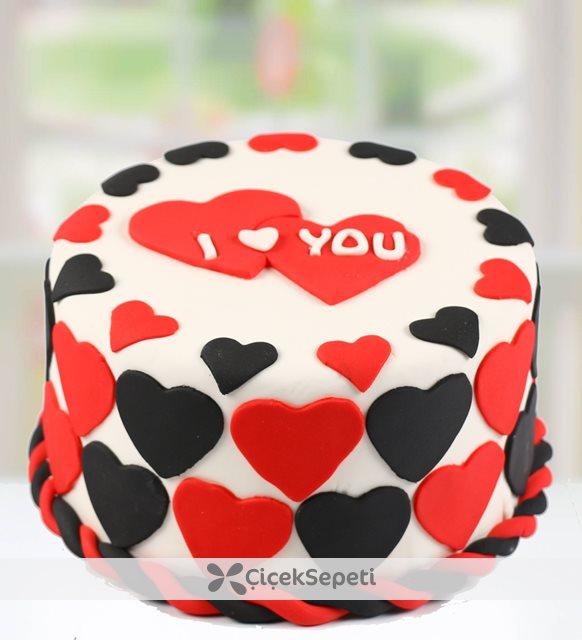 sevgililer günü pastasu