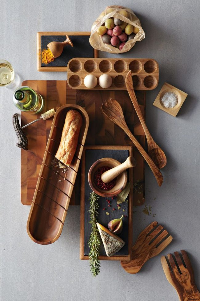 bambu mutfak gereçleri