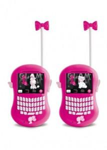 barbie walkie