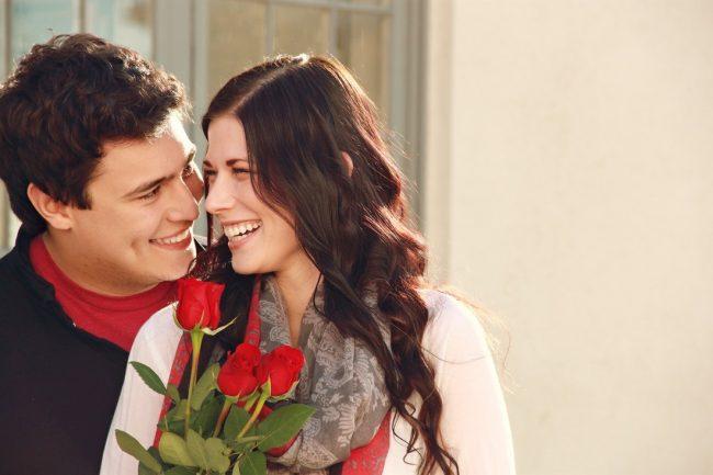 güller ve sevgililer günü