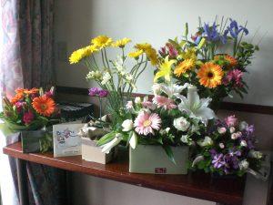 hastaneye çiçek göndermek