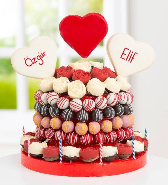 çiftler için kek
