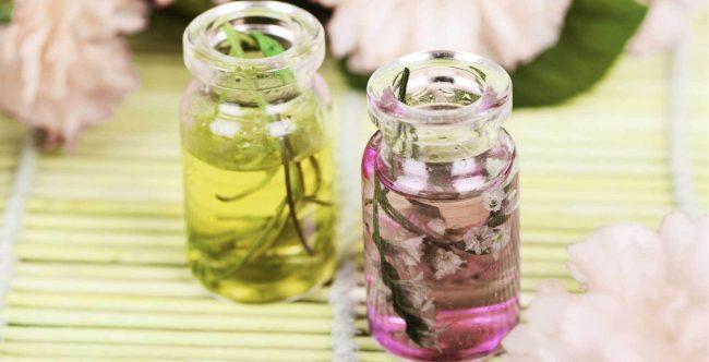 çiçekli parfüm
