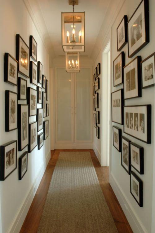 koridoru fotoğraflarla süslemek