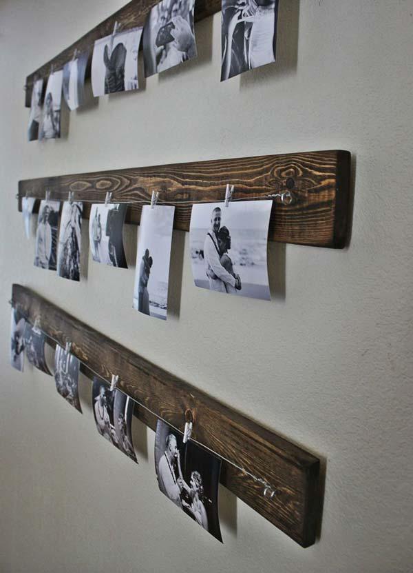 evde fotoğraflarla dekorasyon