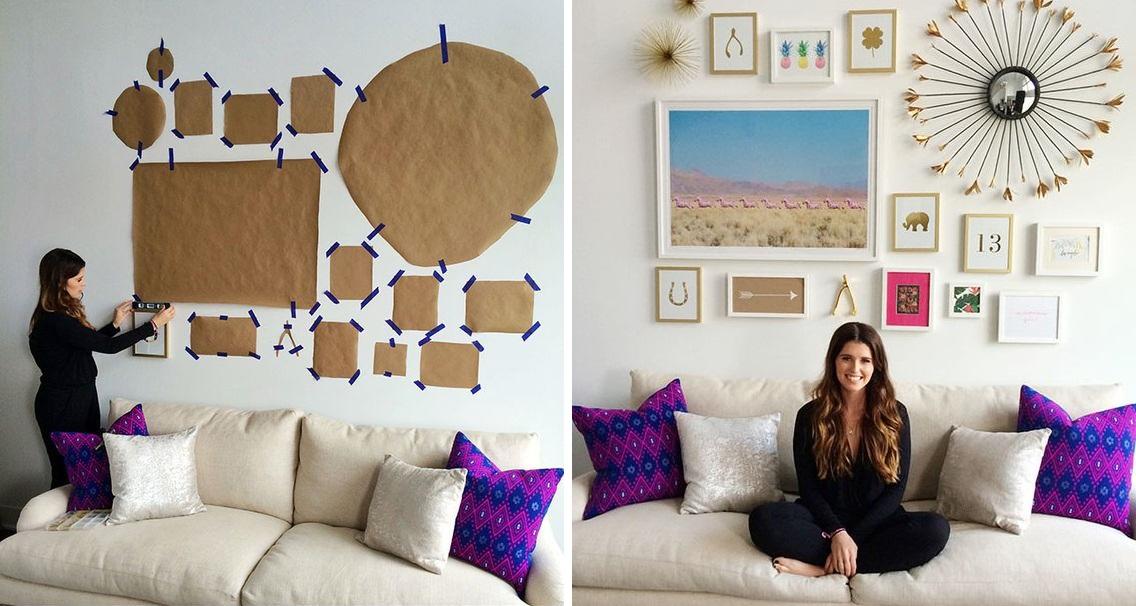 fotoğraflarla ev dekorasyonu yaparken dikkat