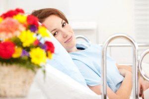 hastaya çiçek