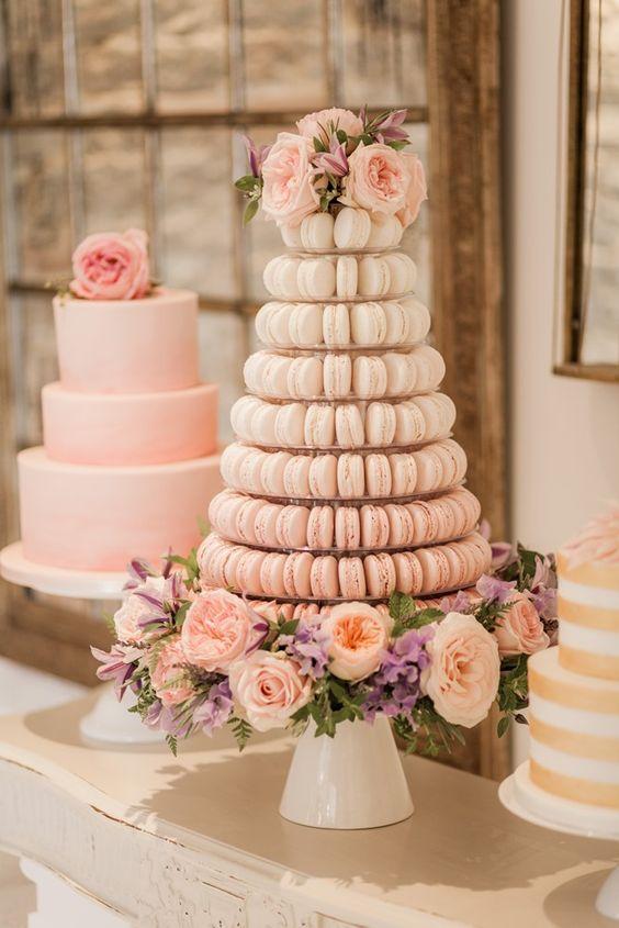 makaronlu düğün pastası