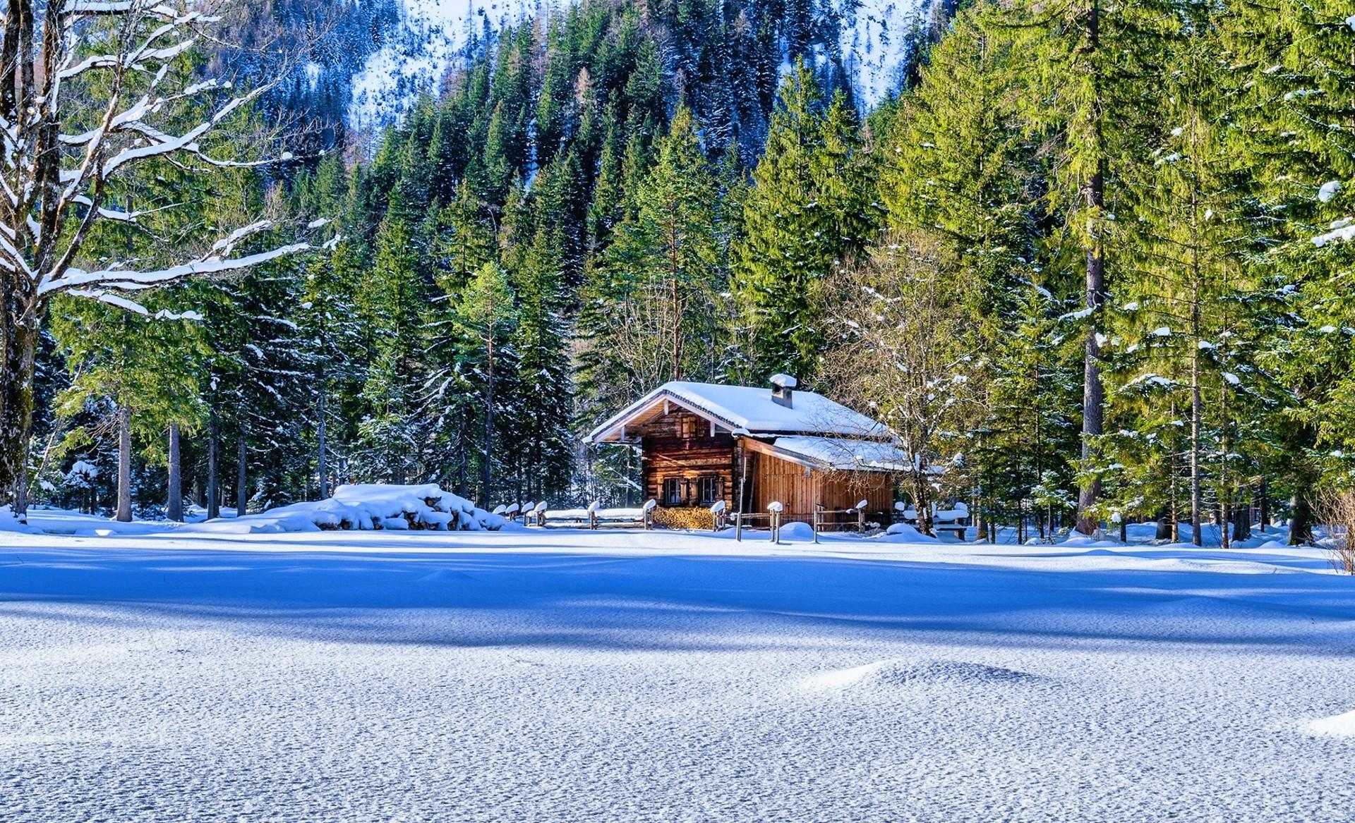karda dağ evi