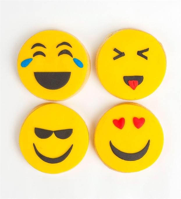emoji kurabiyeler
