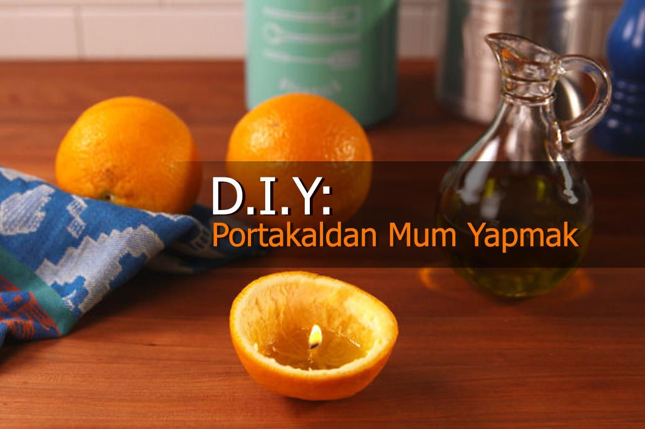 Portakal Kabuğundan Dekoratif Süs Yapımı
