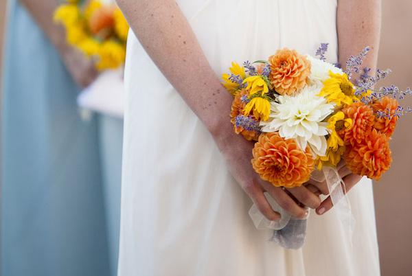 Dalya Çiçeği düğün Buketi