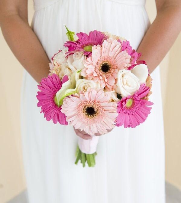 gerbera gelin çiçeği