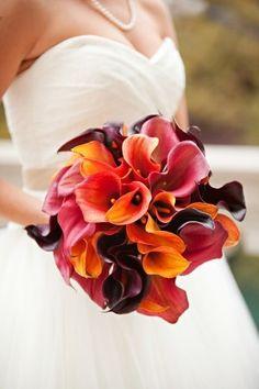 kala zambağı düğün çiçeği
