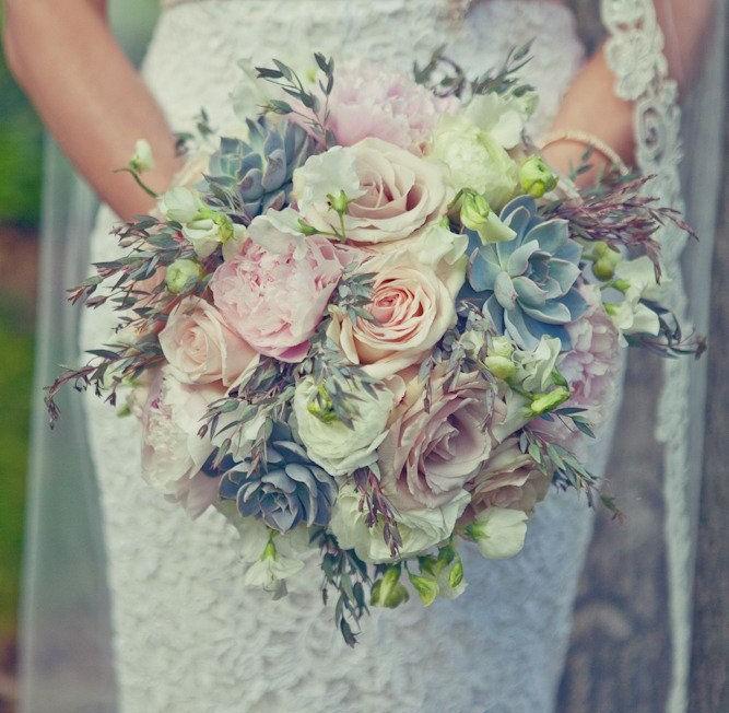 vintage gül düğün çiçeği