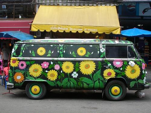 hippi arabası