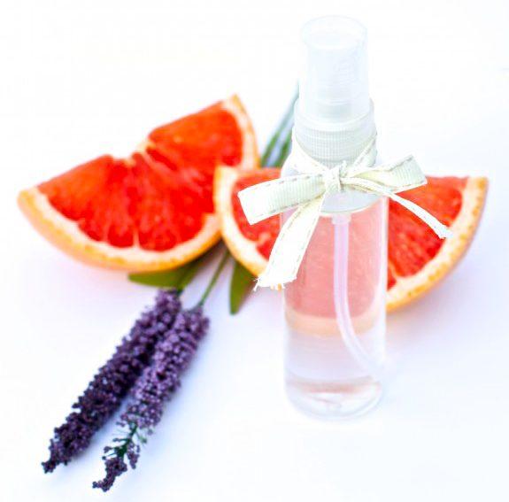 Lavantalı parfüm