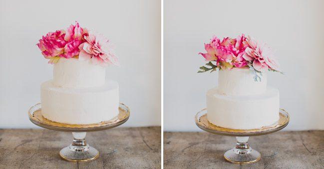 çiçekler pasta süslemesi