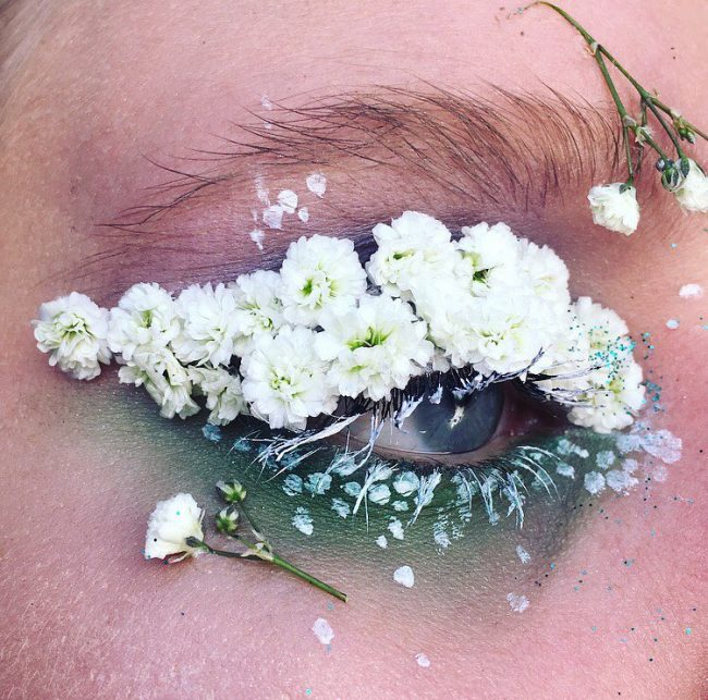 teraryum göz makyajı
