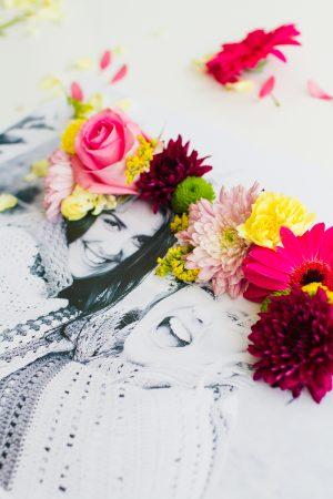 gerçek çiçek filtresi