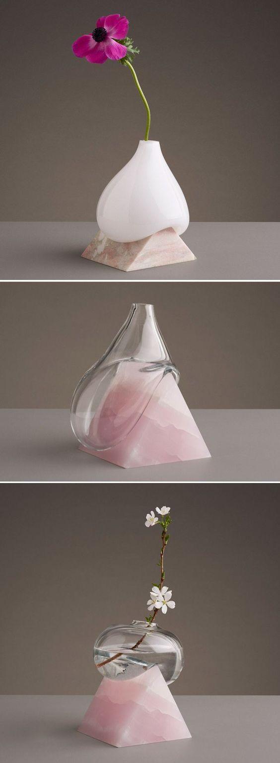 ilginç ve dekoratif vazolar
