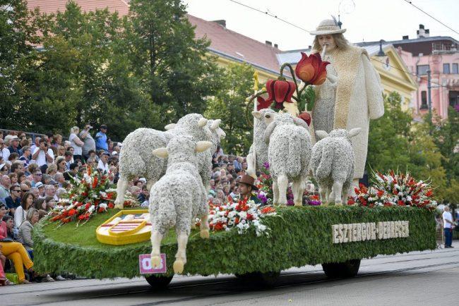 Debrecen Çiçek karnavalı