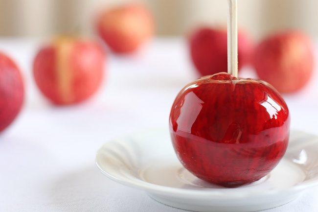 elmalı şeker yapımı