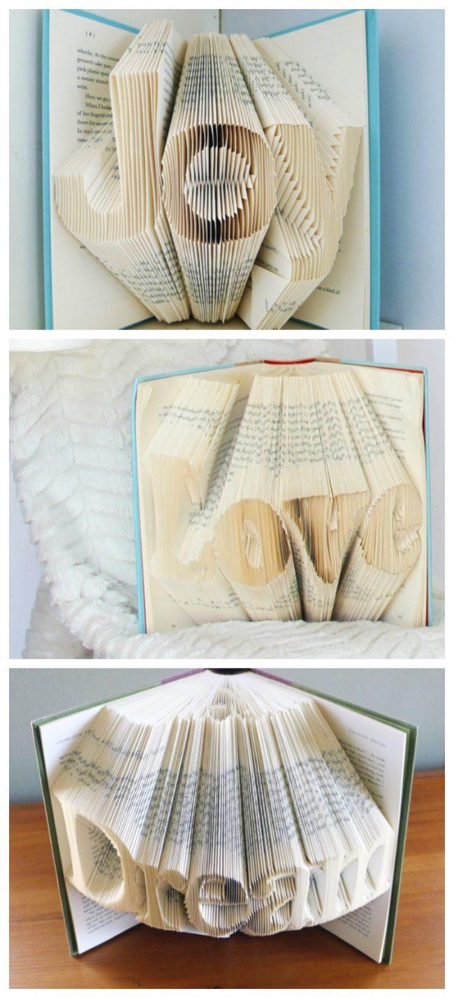 kitaplarla dekor