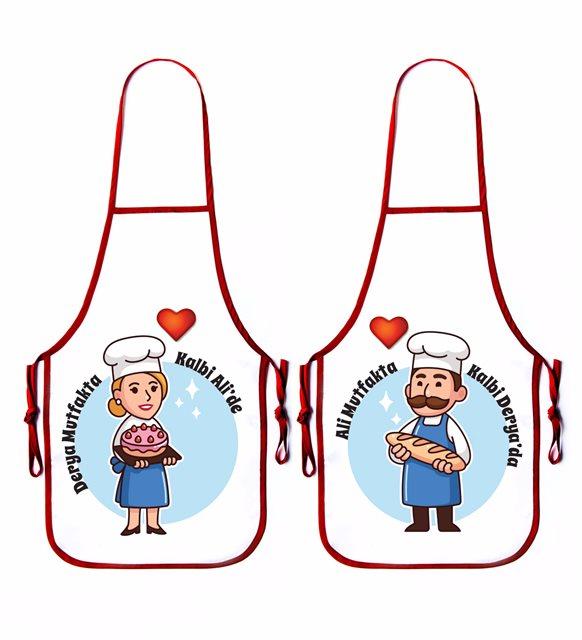 sevgili mutfak önlüğü