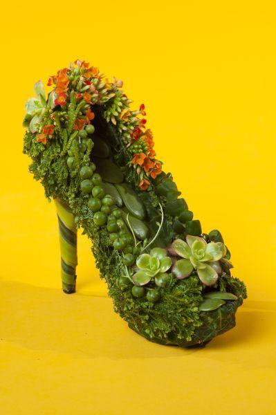 çiçek ayakkabı