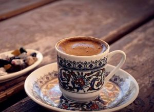 köpüklü türk kahvesi