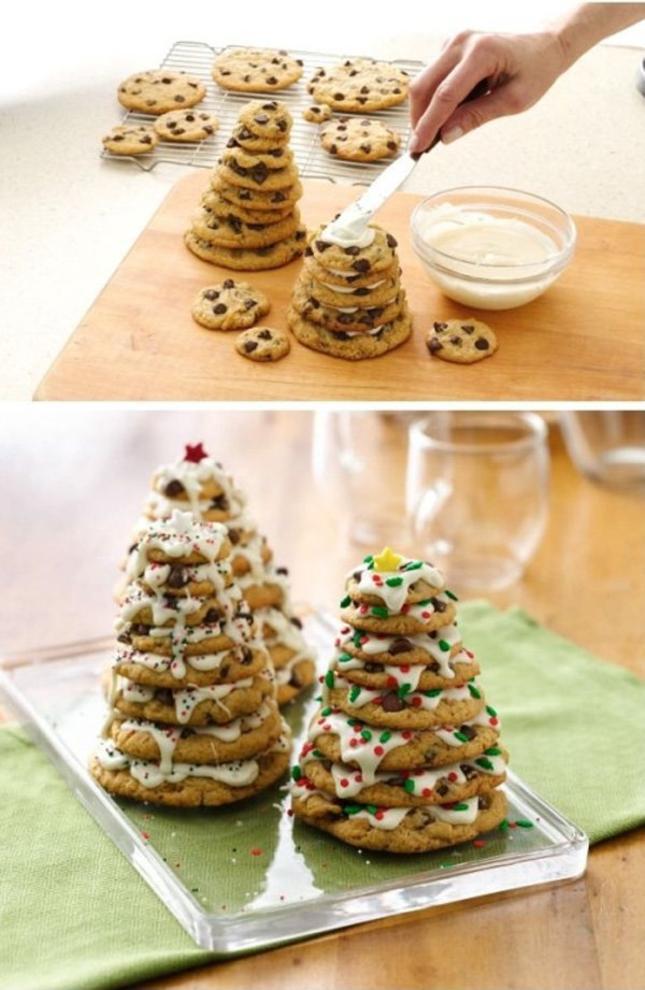 kurabiyelerle yılbaşı ağacı