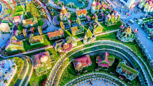 Dubai Mucize Bahçeleri
