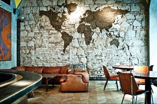 duvarda yosun sanatı
