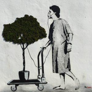 yosunlarla sanat