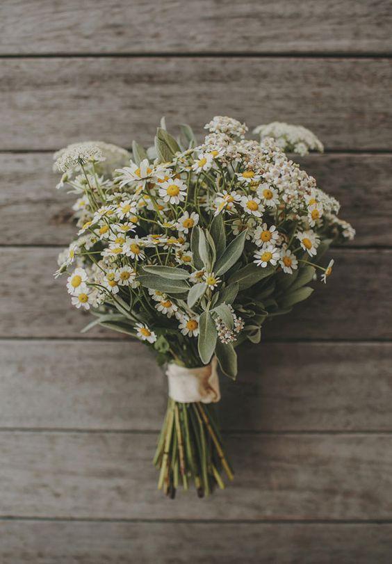 papatya çiçek buketi