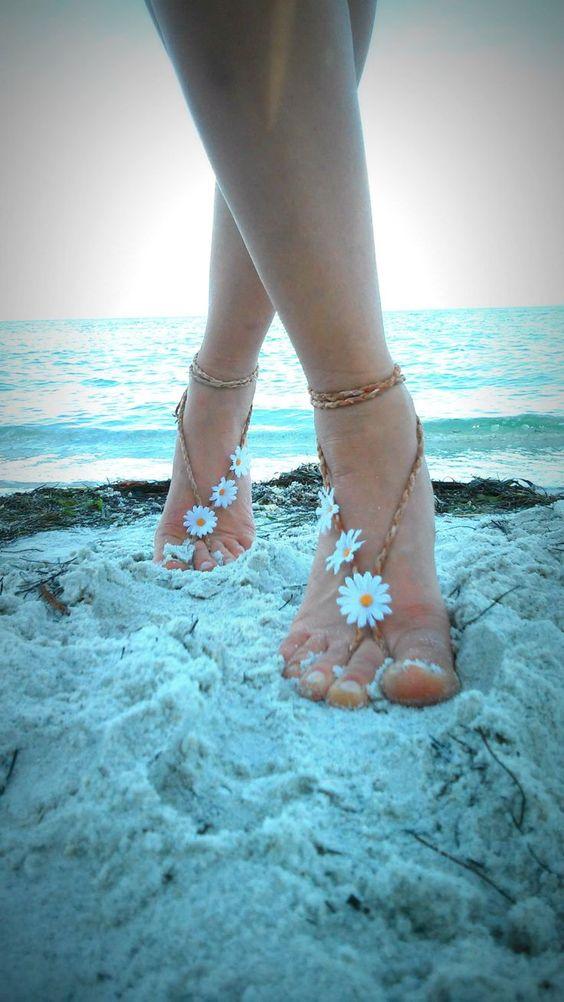 papatya sandalet