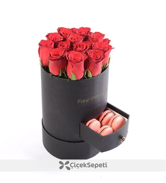makaron ve çiçek