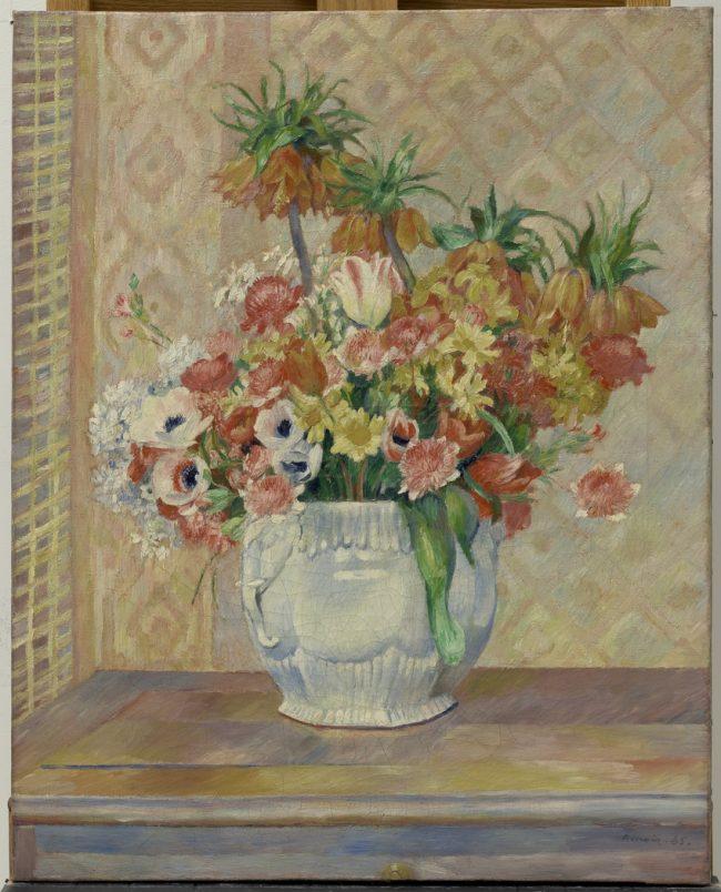 Pierre Auguste Renoir - Nature morte: fleurs