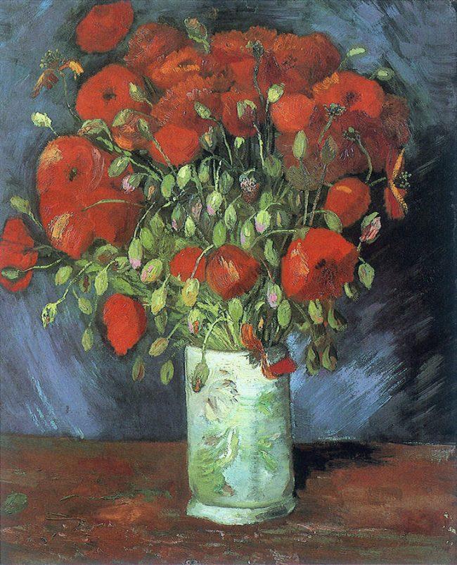 Vincent van Gogh - Gelincikler