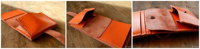 deri cüzdan yapımı