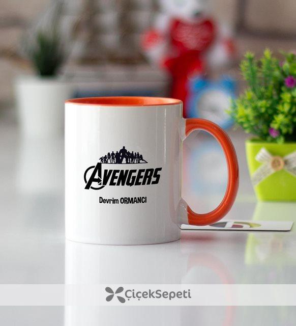 Avengers Turuncu Kupa Bardak