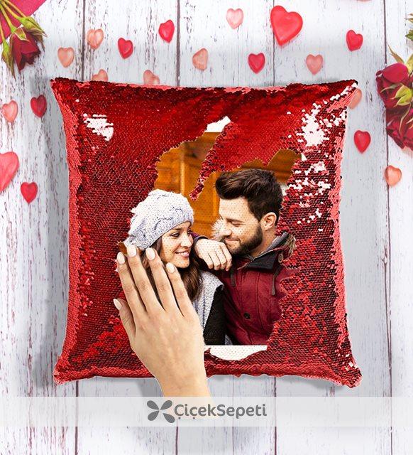 romantik yastık