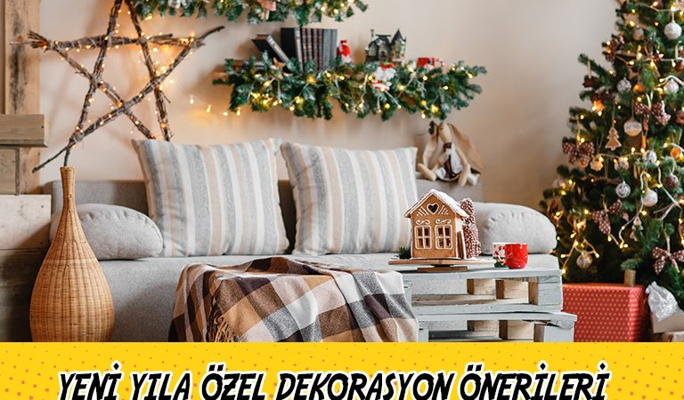 Yeni Yıl Geliyor! Evinizi Güzelleştirecek Dekoratif Yeni Yıl Ürünleri