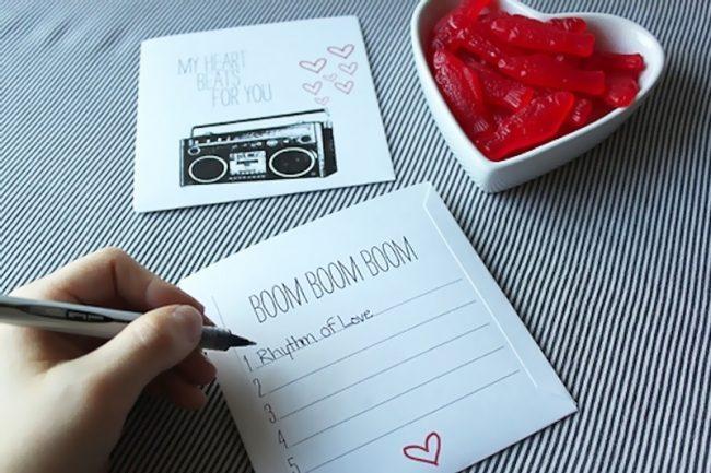 romantik el yapımı hediye