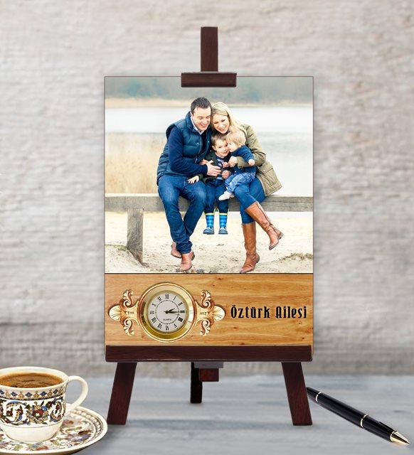 Eşe Anneler Günü hediyesi - masaüstü saat