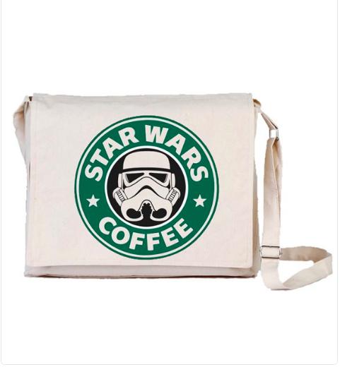 Star Wars Coffee Bez Postacı Çantası