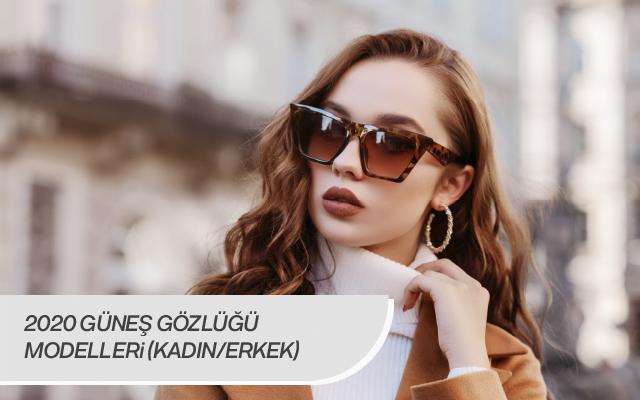 2020 güneş gözlüğü modelleri