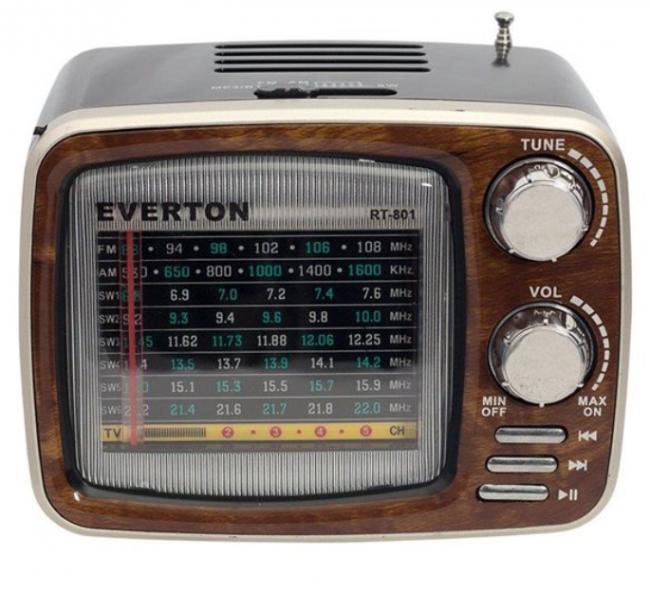 Everton RT-801 USB-SD-FM Nostaljik Radyo